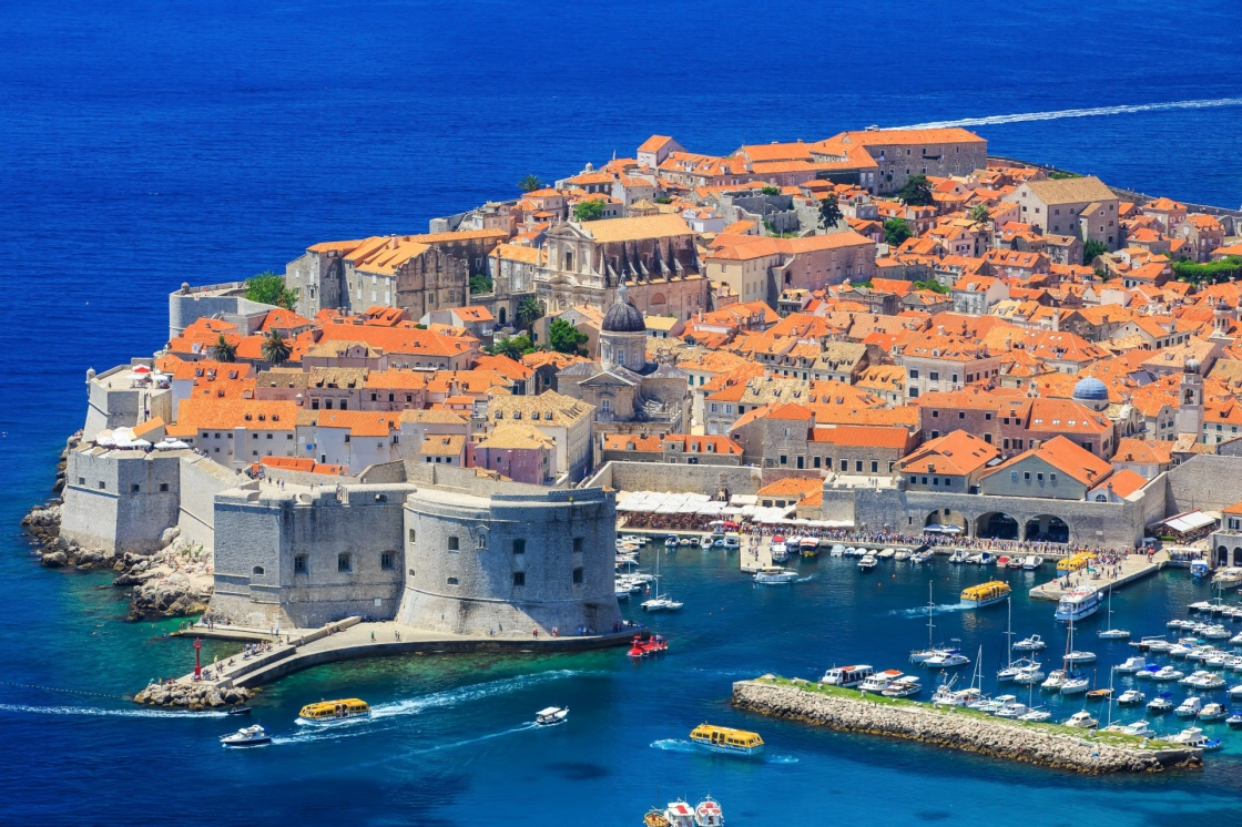 'The walled city of Dubrovnik, Croatia' - Dubrownik