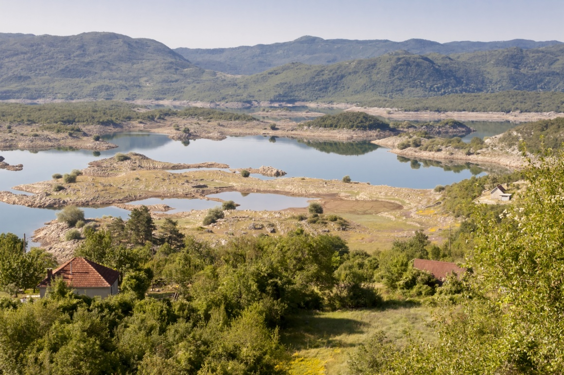 'Village on coast of Slano lake in Montenegro near Niksic.' - Dubrownik